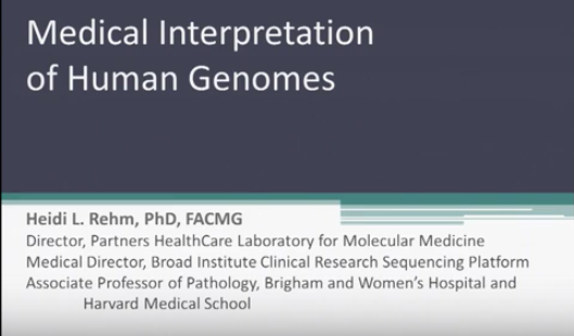 interpretation of human genomes