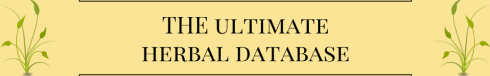 ultimate herbal database